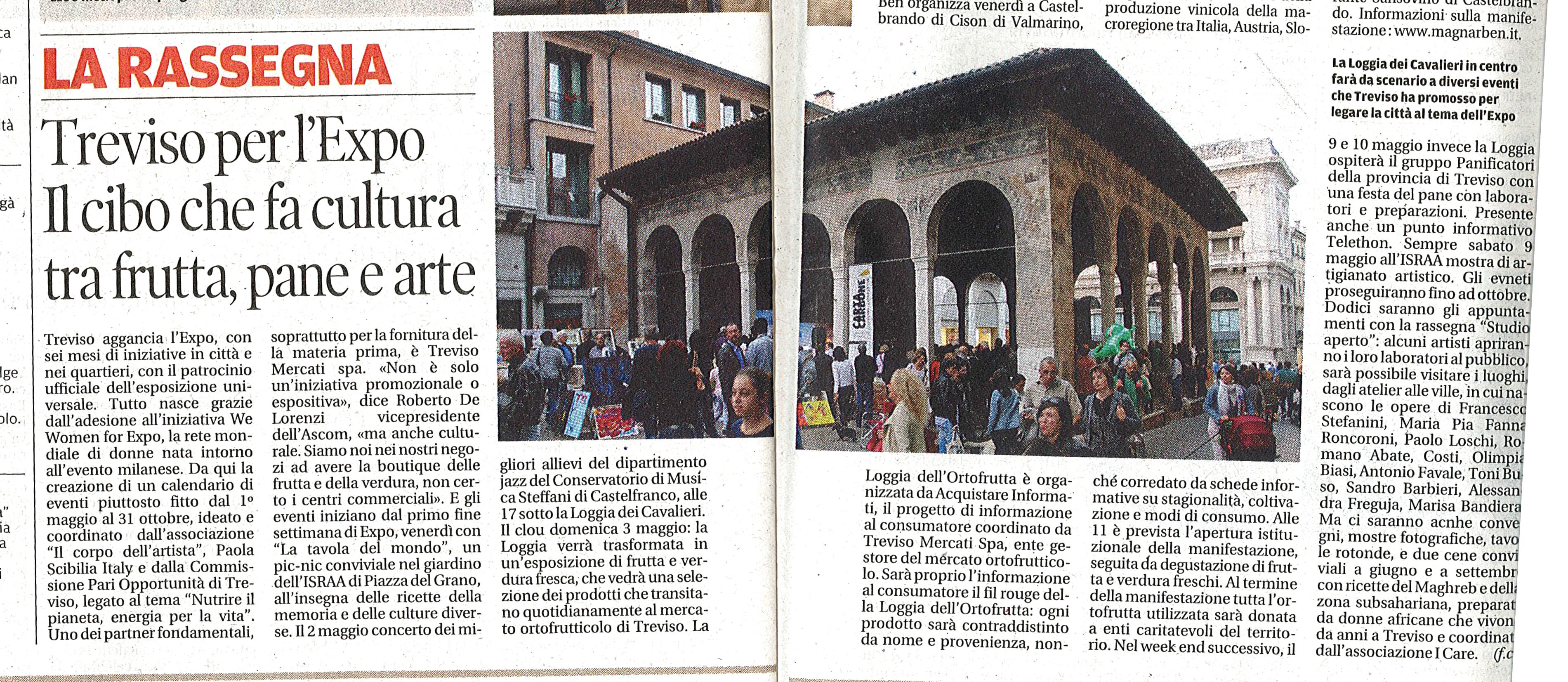 la tribuna - Expo 2015 Treviso